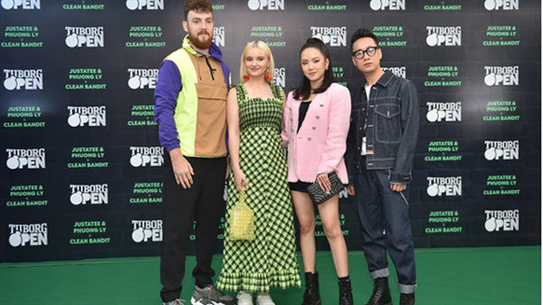 Clean Bandit,British electronic band,Grammy winners,performed,entertainment news,what's on,Vietnam culture,Vietnam tradition,vn news,Vietnam beauty,Vietnam news,vietnamnet news,vietnamnet bridge,Vietnamese newspaper,Vietnam latest news,Vietnamese newspape