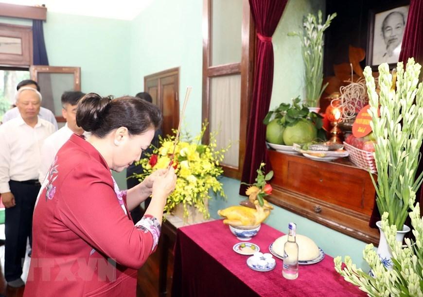 Chủ tịch QH Nguyễn Thị Kim Ngân,Nguyễn Thị Kim Ngân,Di chúc Bác Hồ