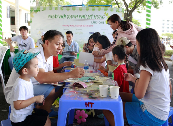 Sản phẩm sạch quy tụ trong ngày hội Xanh Phú Mỹ Hưng 2019