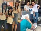 Cường Đô La và con trai Subeo cùng vợ mới Đàm Thu Trang cùng nhau vẽ ảnh gia đình hạnh phúc