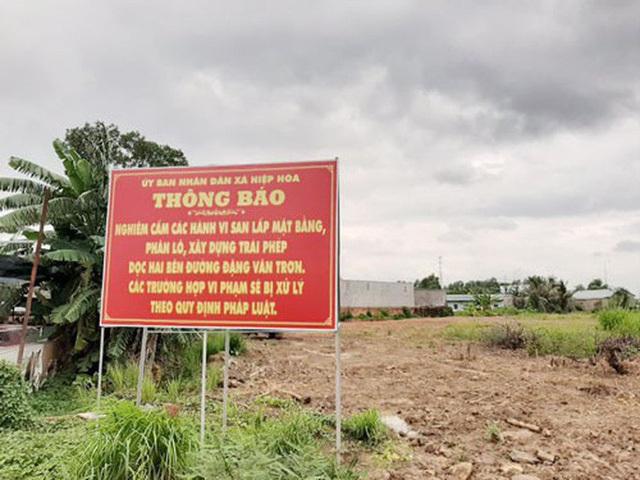 thổi giá đất,sốt đất,đất Biên Hòa,cò đất