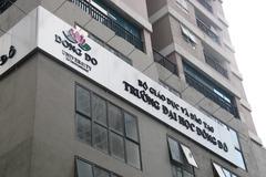 """Ai """"bật đèn xanh"""" cho Trường ĐH Đông Đô vi phạm đào tạo văn bằng 2?"""