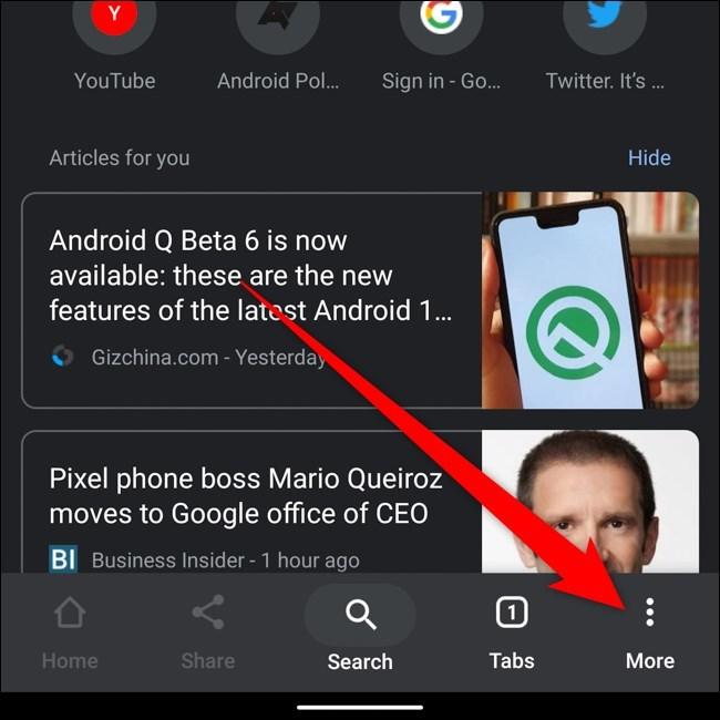 Cách xem lại mật khẩu đã lưu trên Chrome dành cho Android