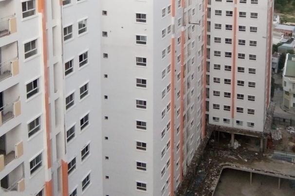 Nhà ở xã hội Hoàng Quân - Nha Trang: Chưa giao nhà đã xin tăng giá