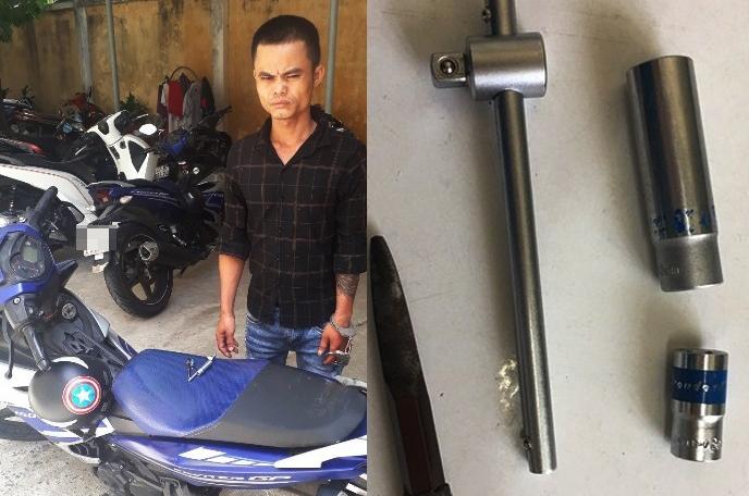 Chân tướng gã trai vật vờ công viên ở Đà Nẵng trộm xe máy vào TP.HCM bán