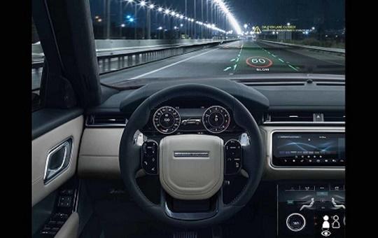 Jaguar Land Rover phát triển công nghệ cảnh báo 3D trên kính lái