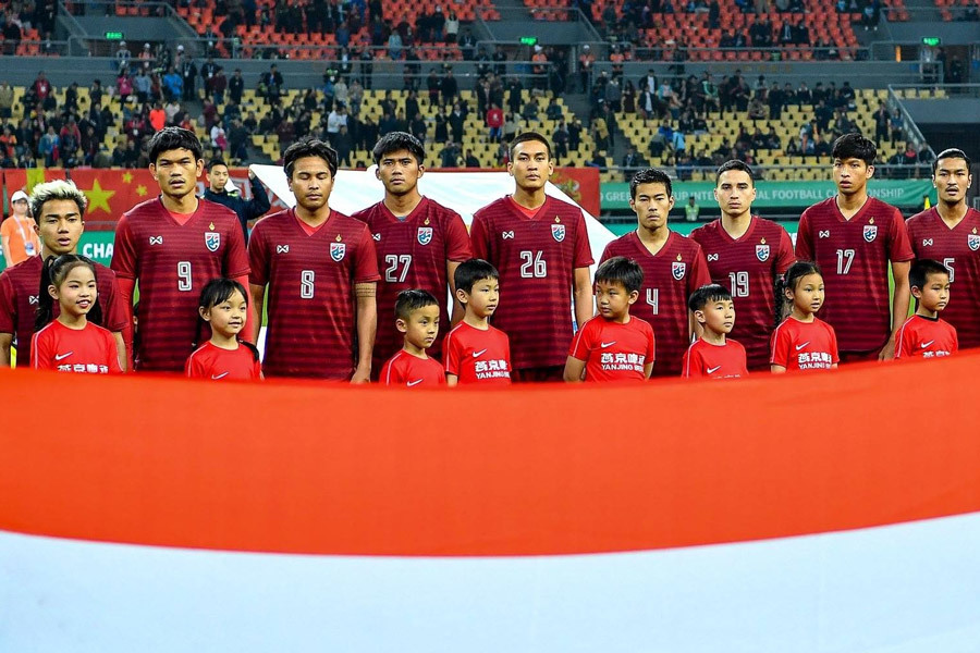 Thái Lan chốt 23 hảo thủ đấu tuyển Việt Nam