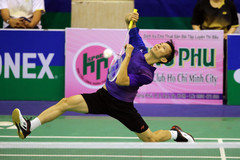 Vietnam's top badminton player suffers early elimination from BWF World Champs