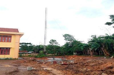 Gãy cột ăng ten ở Quảng Bình, 2 nhân viên Đài Truyền hình huyện tử vong