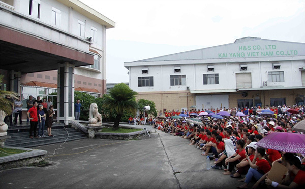 KaiYang footwear workers to go back to work, receive back pay