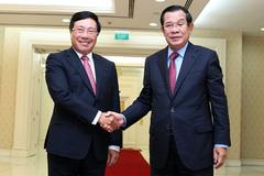 Việt Nam luôn dành nguồn lực thích đáng để hỗ trợ Campuchia