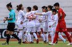 Thắng Myanmar 4 sao, tuyển nữ Việt Nam chờ đối thủ ở bán kết