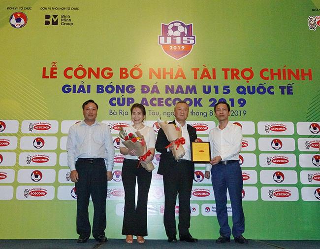 U15 Việt Nam,giải U15 Quốc tế 2019