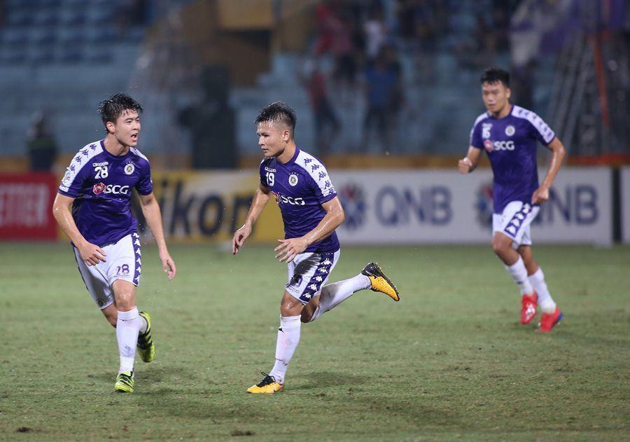 Hà Nội FC,Nguyễn Quang Hải,Altyn Asyr,AFC Cup
