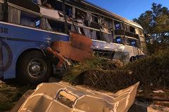 Xe khách tông nhau ở Khánh Hòa, con trai kể phút bố văng khỏi xe tử nạn