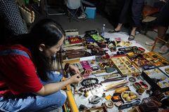 Có gì ở 'chợ ma' giữa lòng Trung Quốc?