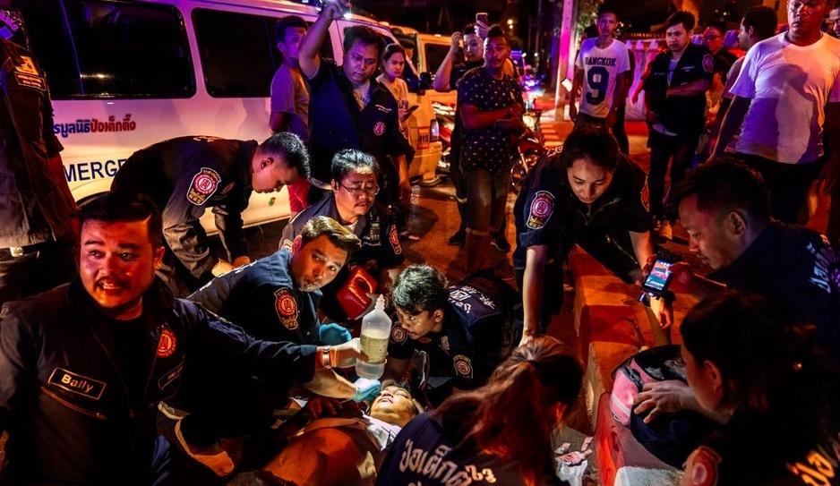 đường sá,tai nạn giao thông,Thái Lan,chênh lệch giàu nghèo