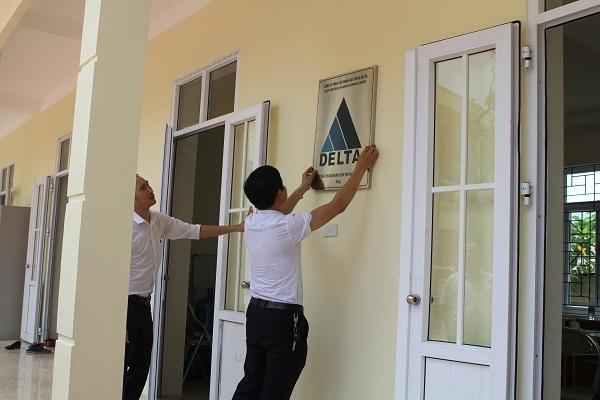 DELTA Group chuẩn bị bàn giao phòng học mới tặng điểm trường tiểu và trung học ở tỉnh Hòa Bình