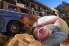 Con trai kể phút bố văng khỏi xe thiệt mạng vụ đâm xe khách ở Khánh Hòa