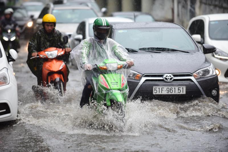 mưa ngập,Sài Gòn