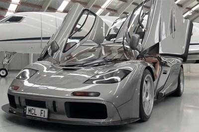 Xem McLaren F1 giá gần 20 triệu USD, cả thế giới chỉ có 2 chiếc