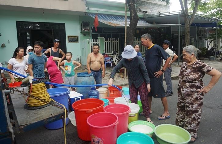 nước sạch,mất nước,Đà Nẵng