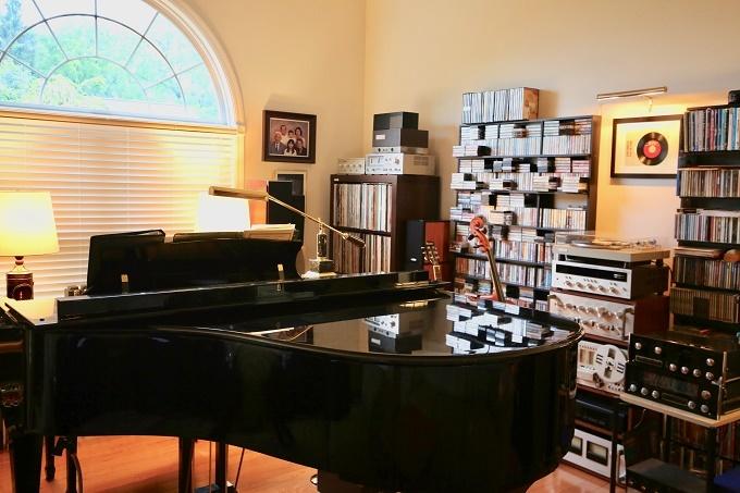 Thăm nhà tiến sĩ Việt ở Mỹ, người sở hữu ngàn thiết bị âm thanh xưa