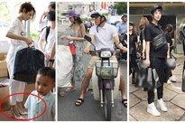 Bảo Anh bị chỉ trích khi mặc áo hiệu, đi giày cao gót làm thiện nguyện
