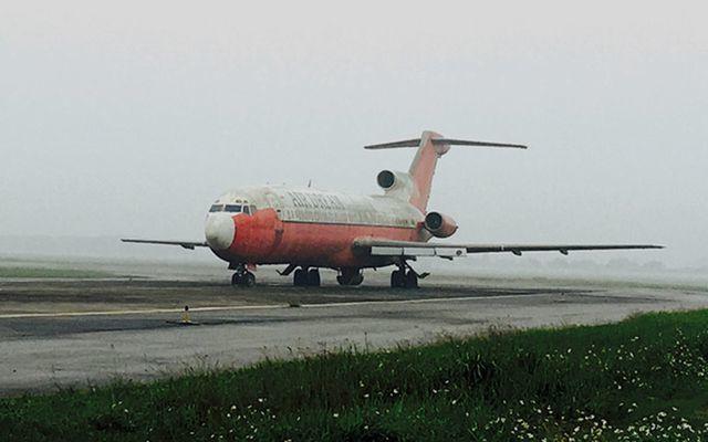 Chưa biết xử lý thế nào tàu bay bị bỏ quên 12 năm ở Nội Bài