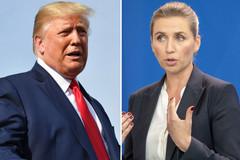 Ông Trump lại 'gây bão' khi đấu khẩu với nữ Thủ tướng Đan Mạch