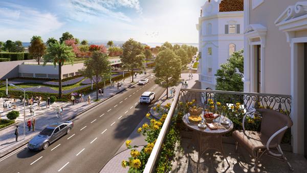 Ra mắt L'Opéra- shophouse mặt tiền đường ra bãi tắm Bãi Cháy