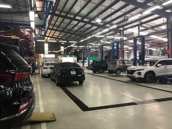 Showroom ô tô chuẩn dịch vụ 3S Huyndai toàn cầu ở Hải Dương