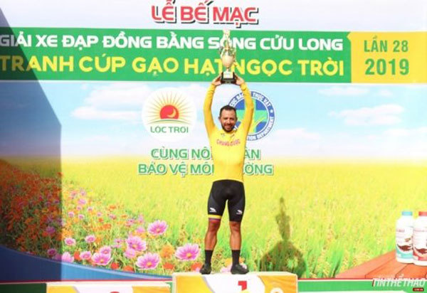 Jordan Parra triumphs at Mekong Delta cycling event