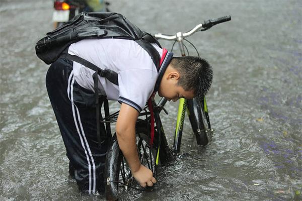 mưa,ngập,Hà Nội