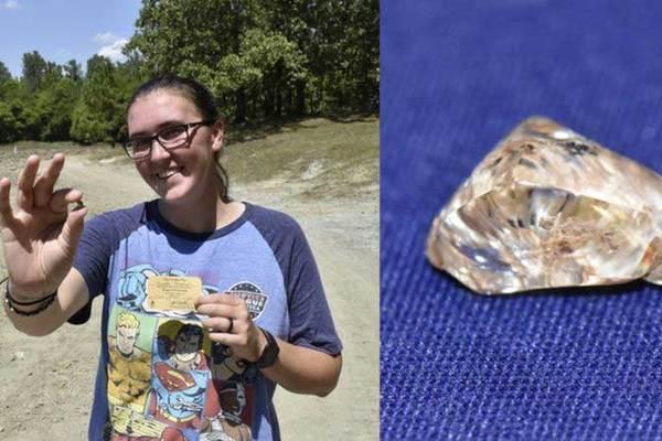 Đi chơi công viên, bỗng dưng nhặt được cục kim cương tiền tỷ