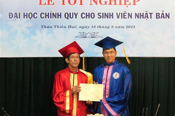 Japanese expat falls for Vietnamese literature