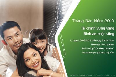 VCLI và Vietcombank phát động tháng bảo hiểm 2019 với nhiều ưu đãi