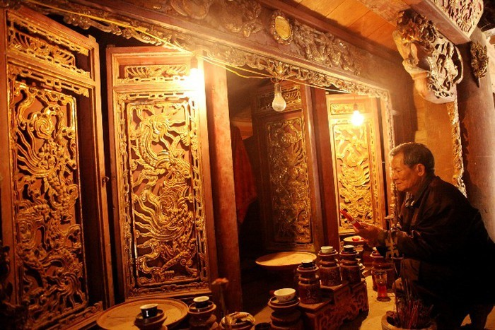 Tay Dang communal house,ba vi,hanoi,ancient house,ancient architecture,vn architecture,Vietnam entertainment news,Vietnam culture,Vietnam tradition