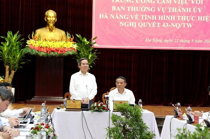 ông Nguyễn Văn Bình,Đà Nẵng,tăng trưởng,quy hoạch