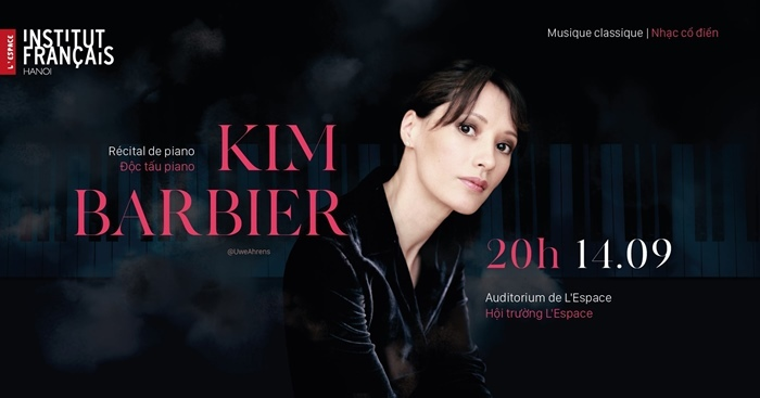 Vietnamese French pianist Kim Barbier to perform in Hanoi next month
