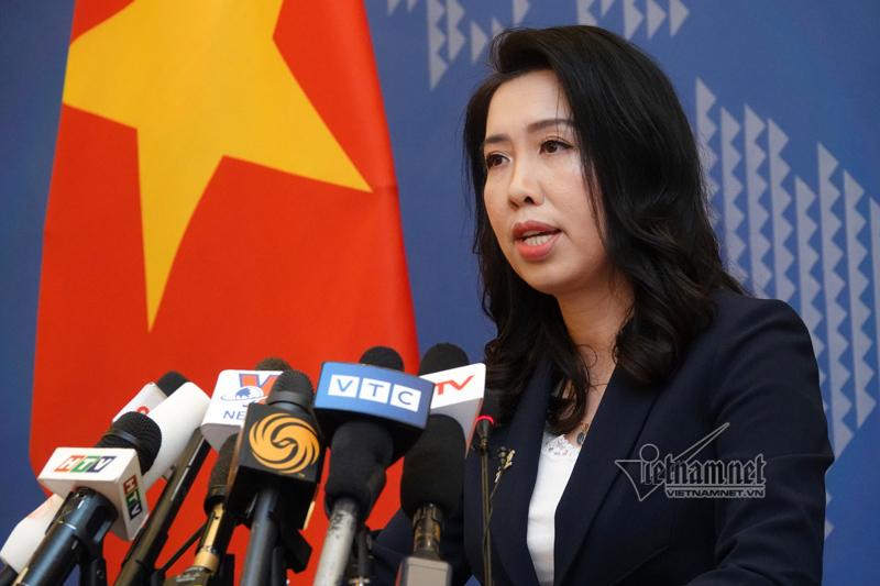 Yêu cầu Trung Quốc rút tàu, không có hành vi đe dọa hòa bình Biển Đông