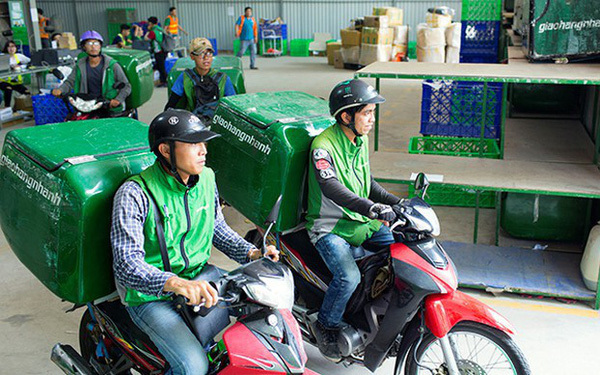 The face of delivery market determined by app race