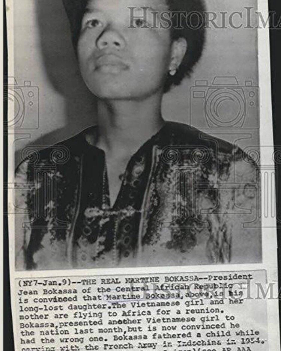 Số phận hai cô con gái người Việt của hoàng đế Trung Phi