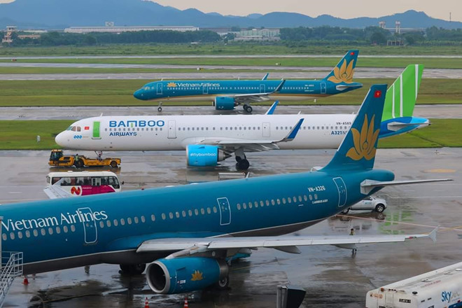 vietnam airlines,vinpearl air,vietravel airlines,vietjet air,bamboo airways,hàng không,máy bay