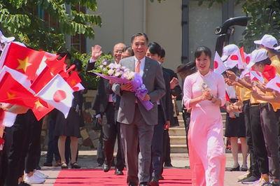 Thủ tướng tiếp Thống đốc tỉnh Nagano, Nhật Bản