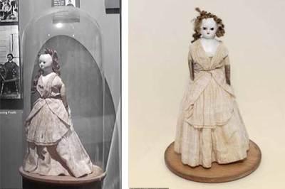 Búp bê 'ma ám' 200 tuổi biến mất rồi tái xuất bí ẩn