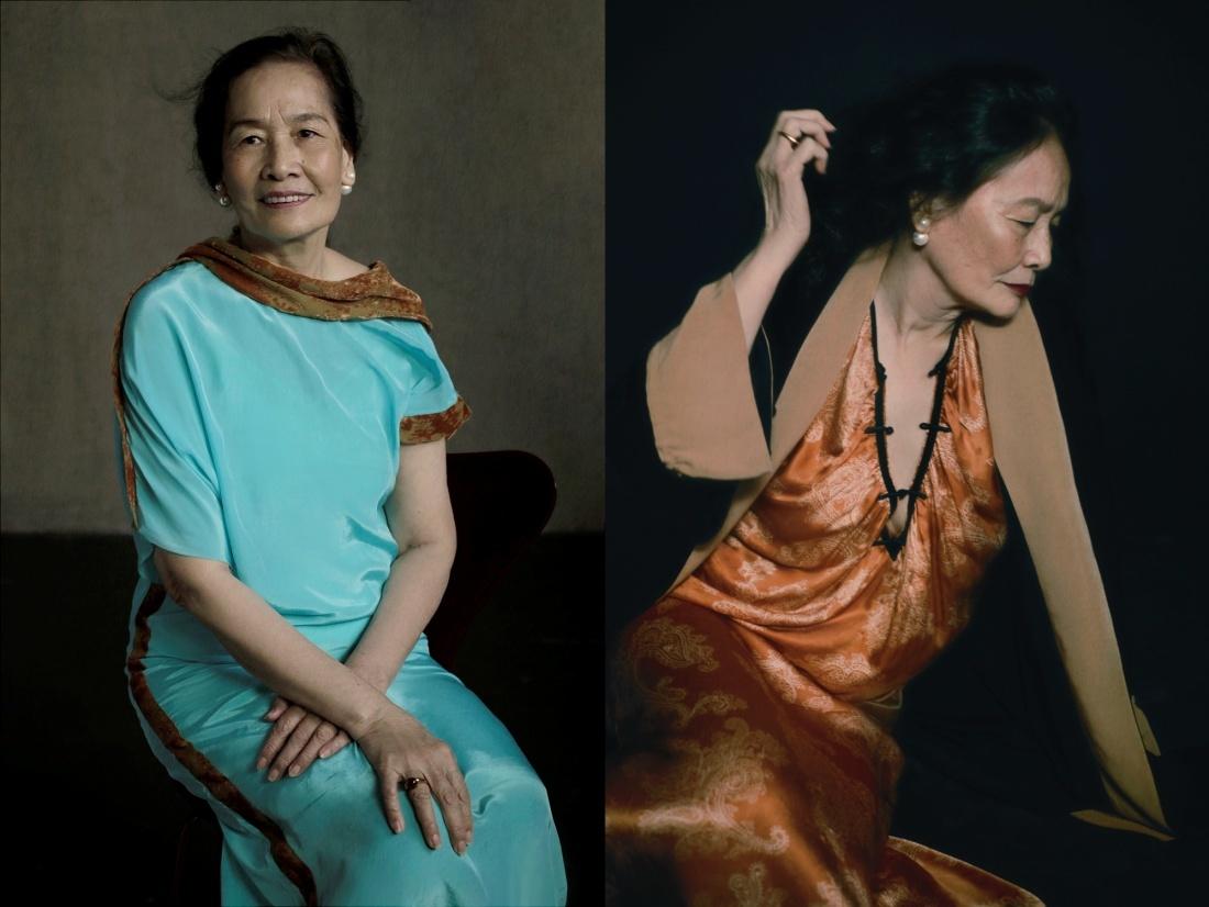 Phạm Quỳnh Anh, Thân Thúy Hà gợi cảm cùng mẫu nữ 73 tuổi