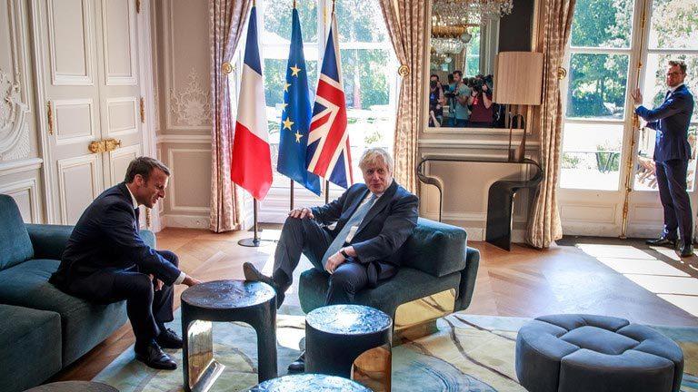 Anh,Pháp,tân Thủ tướng Anh,Boris Johnson,Emmanuel Macron