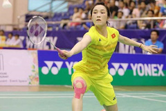 VN's Vu Thi Trang ends competition at world badminton event