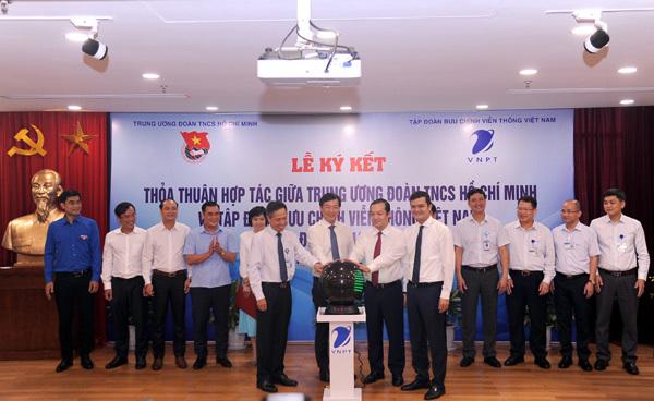 VNPT hợp tác toàn diện với Trung ương Đoàn